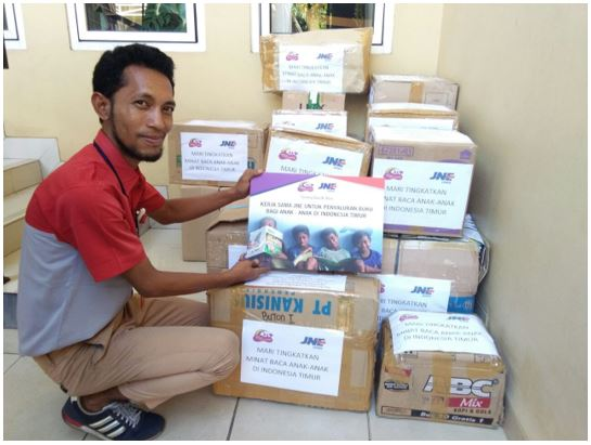 Book Delivery to Waingapu with JNE