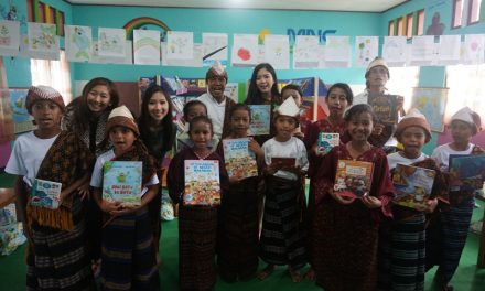 TBPelangi x MNC Peduli Collaboration on 108th Library Inauguration!