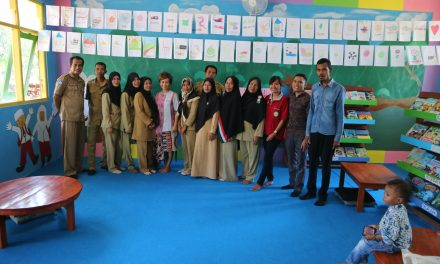 Inauguration of Mananga Islamic Elementary Library in Sumba: God's Blessing Come Down