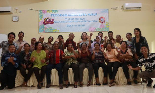 Program Pelatihan Bebas Buta Huruf di Kota Pancasila