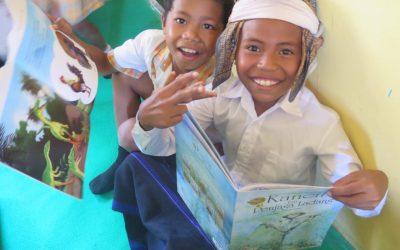 Taman Bacaan Pelangi Resmikan Perpustakaan Ramah Anak ke-118 di SDK Koanara