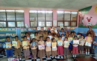 New Book Collection for Our Library at SD YPK Kanda, Papua