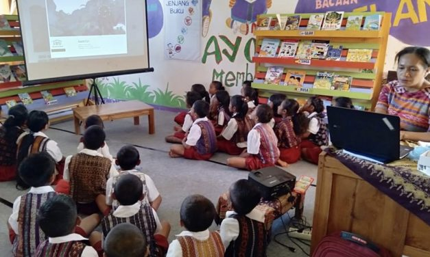 How Technology Transforms The Love of Book Among the Children in Ende