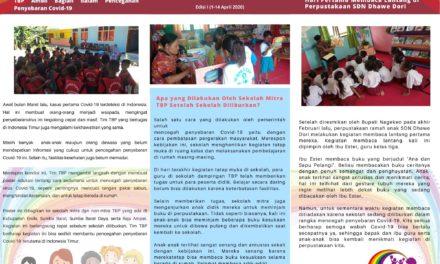 TBP Rilis Newsletter edisi pertama