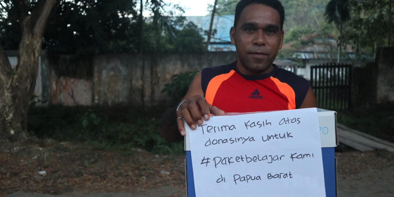 Paket Belajar Untuk Raja Ampat, Papua Barat
