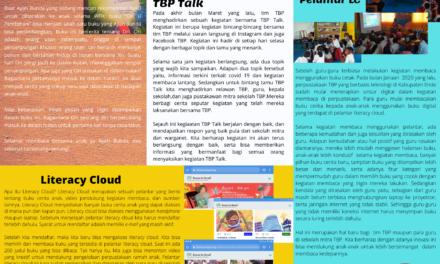 Newsletter TBP Edisi II telah terbit