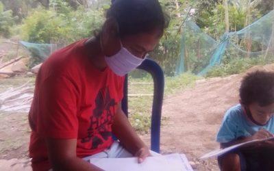 Perpustakaan Mengunjungi Anak-anak Saat Pandemik