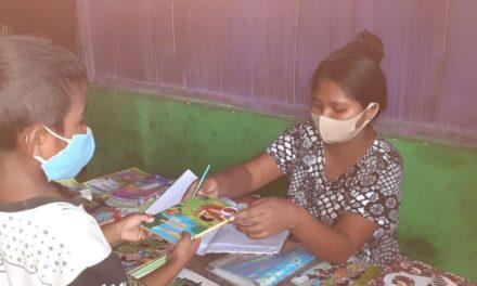 Peran pustakawati dalam menyediakan akses baca untuk anak-anak sekolah mitra tbp selama masa BDR