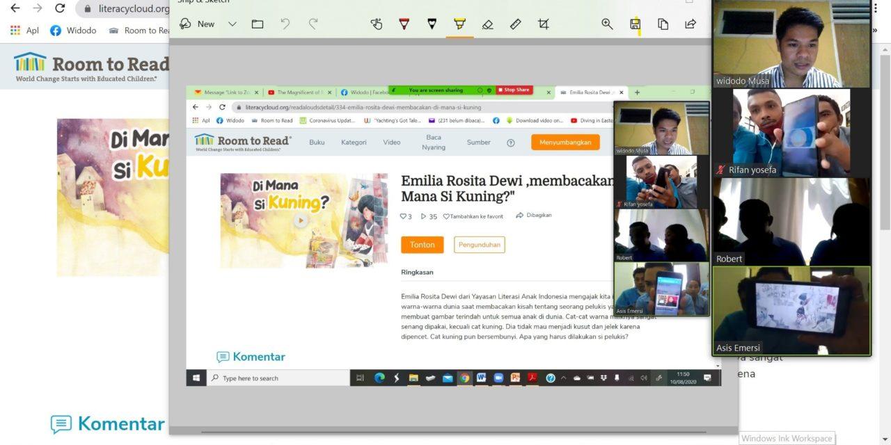 Pelatihan daring literacy cloud untuk sekolah mitra tbp di Manggarai barat