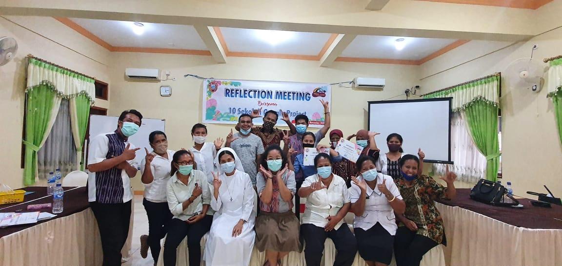REFLECTION MEETING SEKOLAH GOOGLE PROJECT: BERBAGI INSPIRASI DAN KOMITMEN DI MASA DEPAN