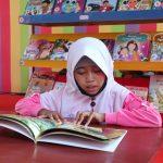 Perpustakaan Ke-134 Taman Bacaan Pelangi di Tasiu, Sulawesi Barat